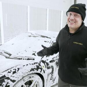 vahuleotus, snow foam, leotusaine xpert-60 2